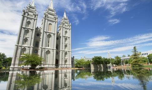 Mormon Temple i Salt Lake City