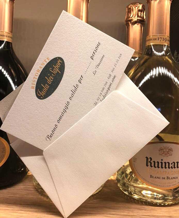 Gift card ristorante Milano