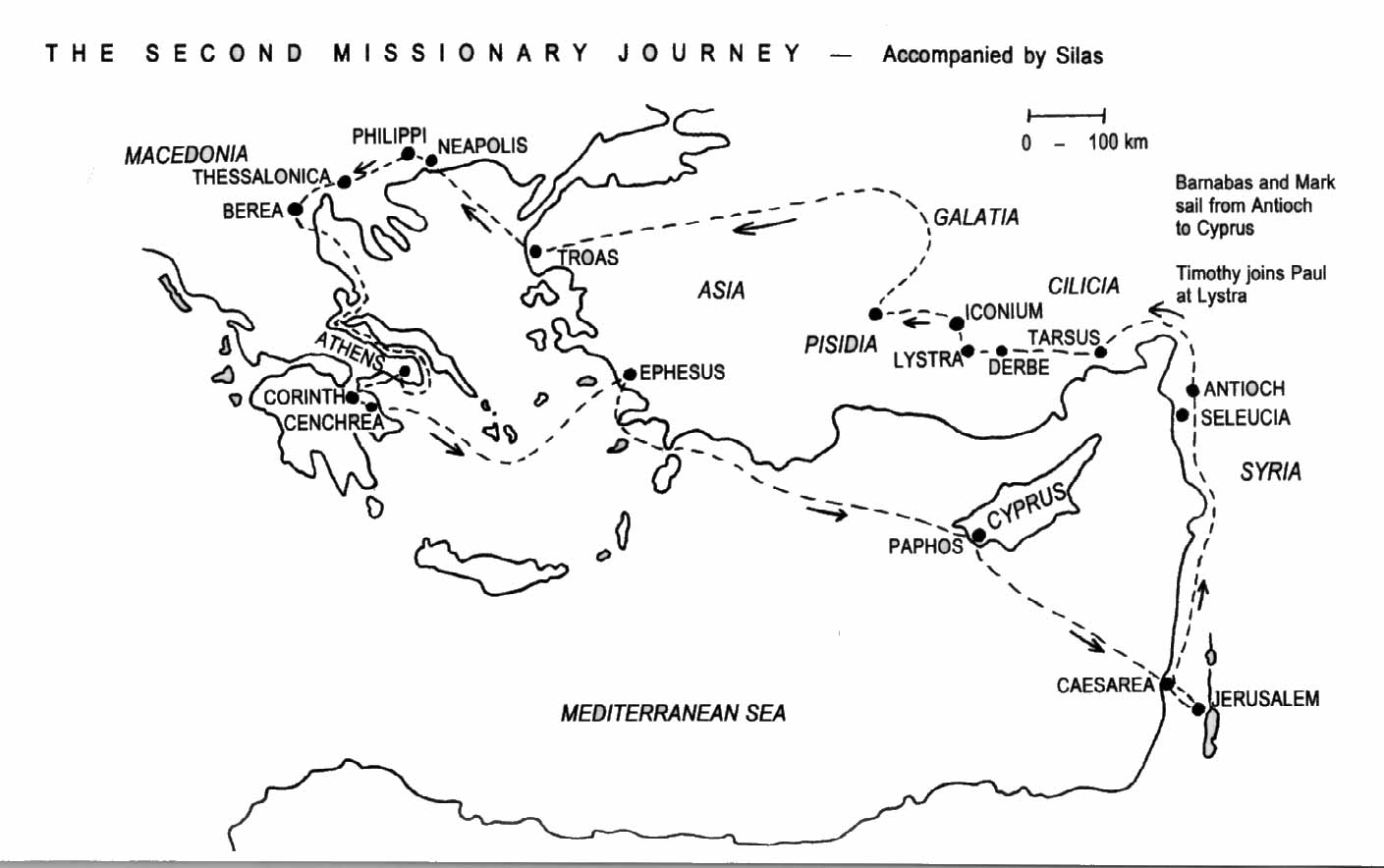 Paul S Second Missionary Journey