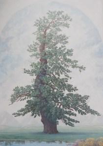 2017 La Quercia - olio e acrilico su tela. 251x180