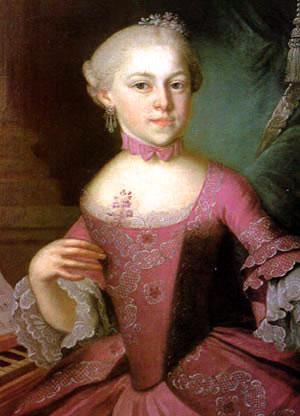 La sorella di Mozart   Ritratto autentico