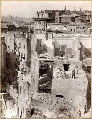 La Roma del Ventennio fascista: gli sventramenti