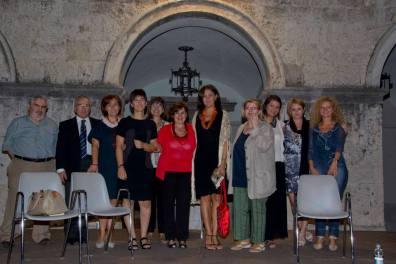 Foto di gruppo, di Massimo Palmieri, al termine della presentazione