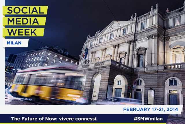 Ci vediamo mercoledì 19 a Milano, per la Social Media Week