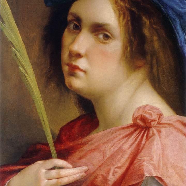 Autoritratto di Artemisia Gentileschi