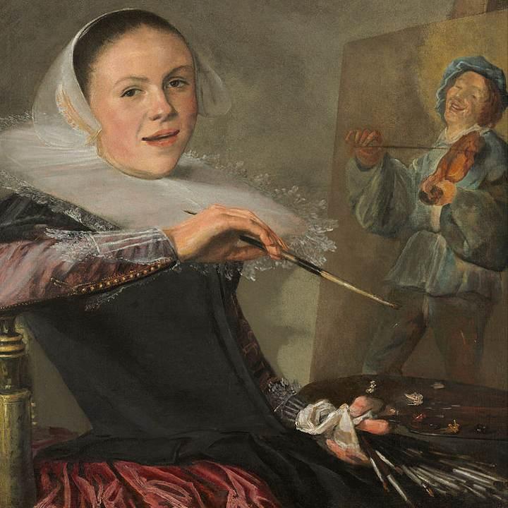Le donne e l'arte: Judith Leyster, autoritratto