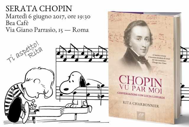 Serata Chopin, il 6 giugno a Roma