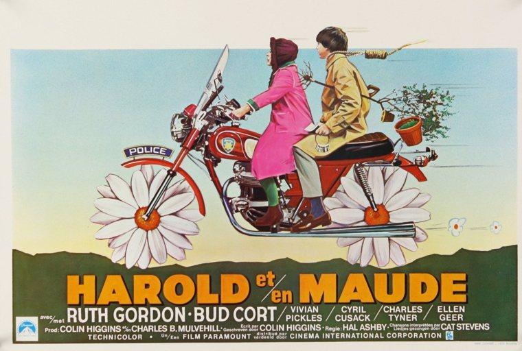 Harold e Maude - la locandina