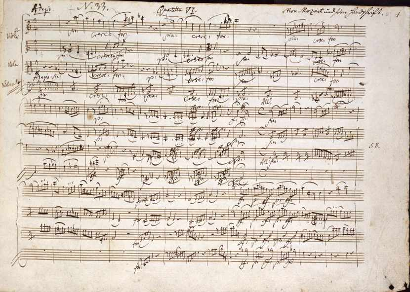 «La profezia segreta di Mozart»