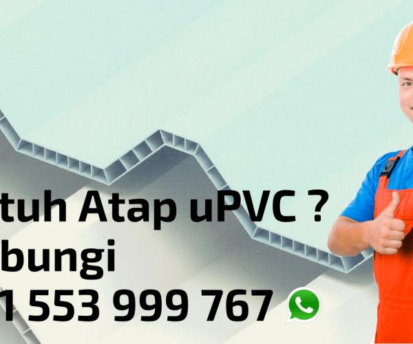 Jual Atap uPVC Alderon Terbaik