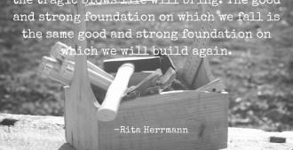 build rebuild foundation strong