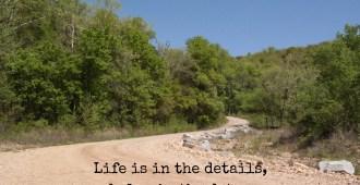 details detours serenity simple pleasures