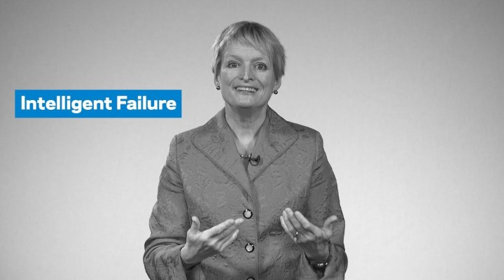 Failure can be your friend – if it's intelligent