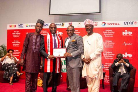 BIGI BOSS BAGS MADE IN NIGERIA AMBASSADOR AWARD Nigerian Institute of Public Relations