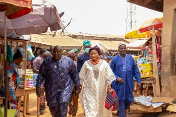 Rite Foods gives to Ago Iwoye Market