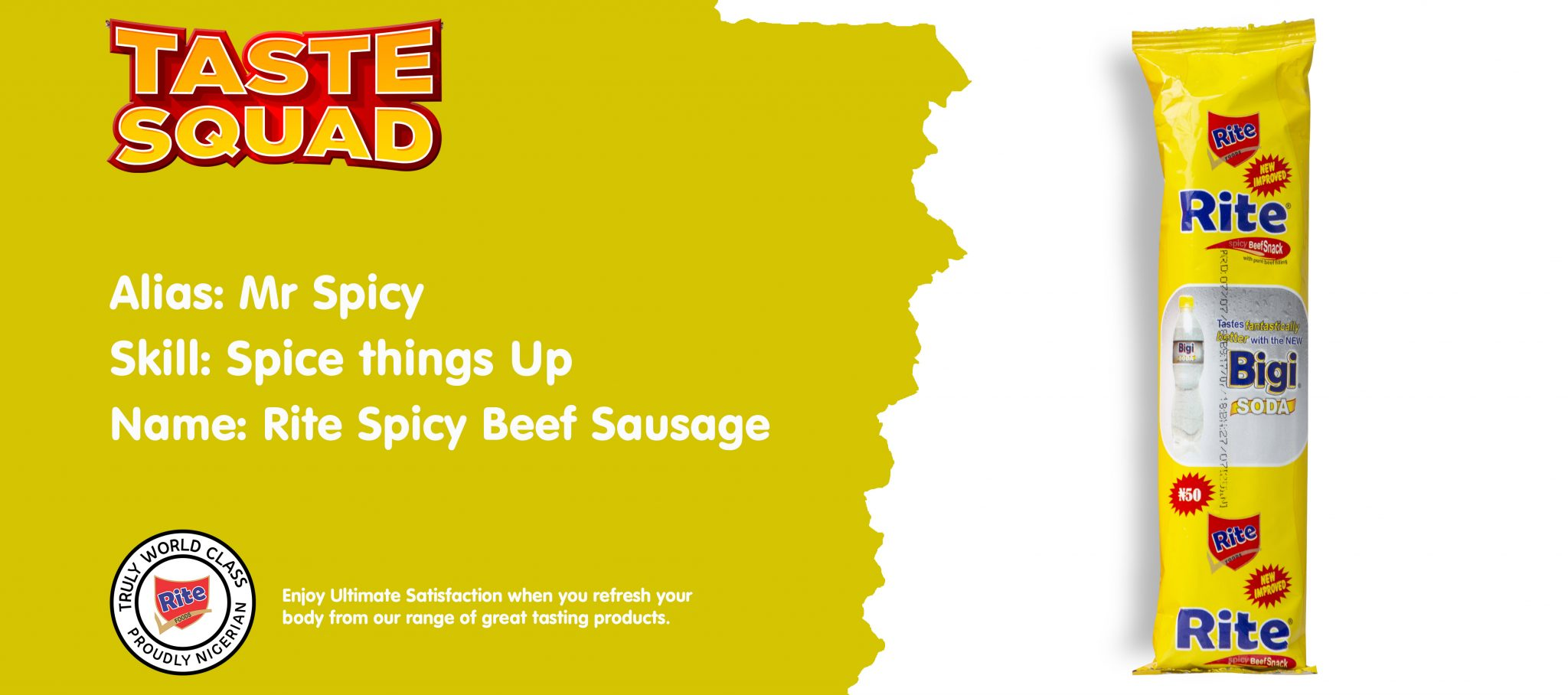 Spicy Beef Sausage