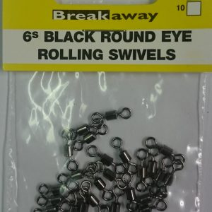 Breakaway Round Eye Rolling Swivels