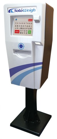 SoloWeigh Kiosk in White