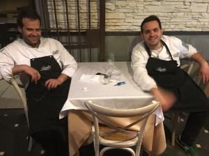 Da sx: Francesco Vorraro e Luciano Bifulco