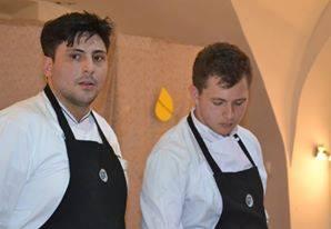 Da sx: Vincenzo Vaccaro con il collaboratore Antonio Leone