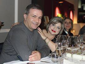 Da sx: Alfonso Pepe e Teresa Vitolo