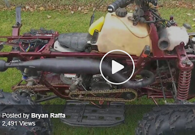 Bryan Raffa video polaris with RCR Pipes