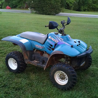 Search for products and services for Polaris Xpress 400 from Ritter Cycle Racing Inc. Pic courtesy of Adam Gray.