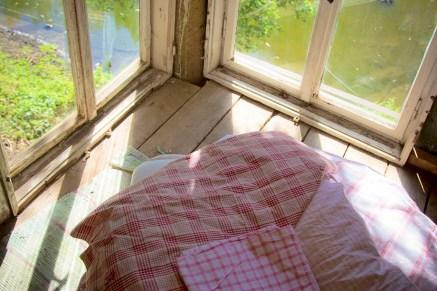 Relaxen im Baumhaus mit Seeblick auf Rittergut Endschütz