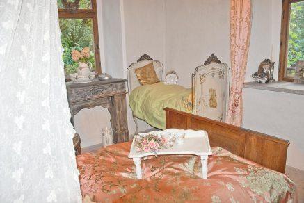 Rittergut Endschütz Ferienwohnung Romantika Schlafgemach
