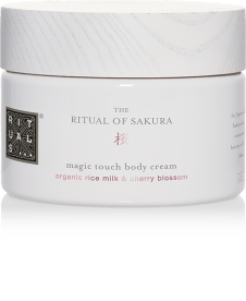 The Ritual of Sakura Renewing Treat Gift Set Review | The Ritual of Sakura Magic Touch Body Cream
