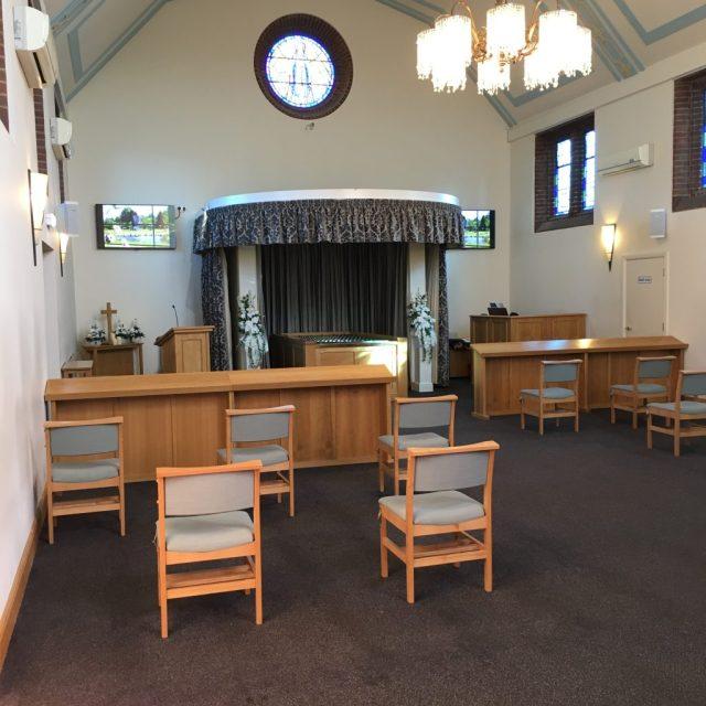 Enfield crematorium during covid-19