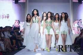 FormatFactoryModels at Jaya Misra's show on Day 2 of India Resortwear Fashion Week