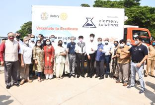 Rotary Club Of Madras Helps In Providing Necessary Infrastructure To Safely Transport Vaccines Across Tamil Nadu (2)