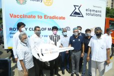 Rotary Club Of Madras Helps In Providing Necessary Infrastructure To Safely Transport Vaccines Across Tamil Nadu (5)
