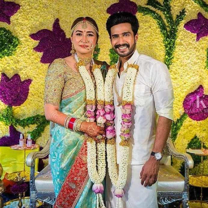 Vishnu Vishal Ties The Knot With Jwala Gutta (2)