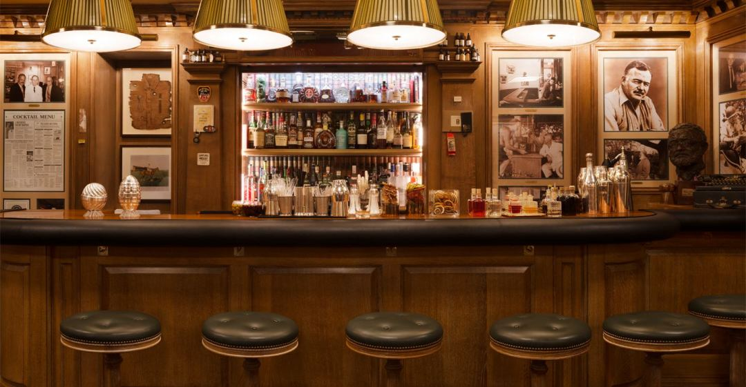 Image result for bar hemingway paris