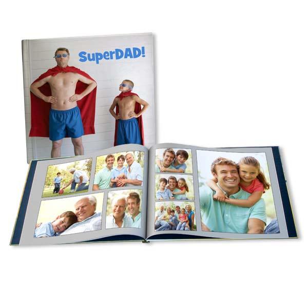 Fathers Day Album Personalized Photo Book RitzPix