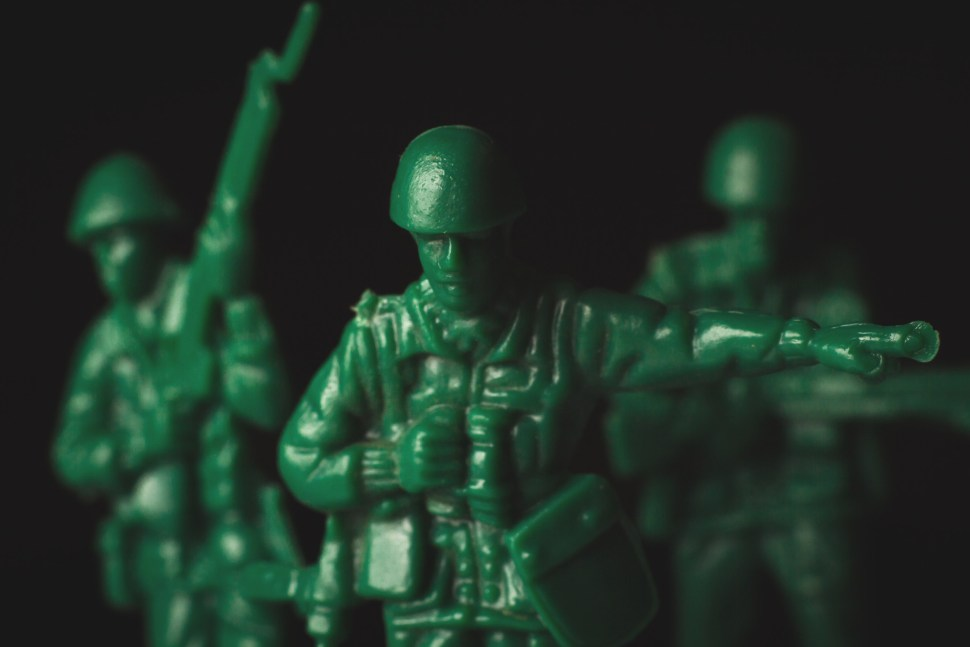 Plastic Army Standing