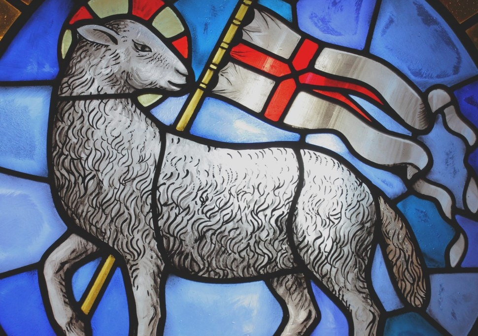 Lamb Stained Glass Window