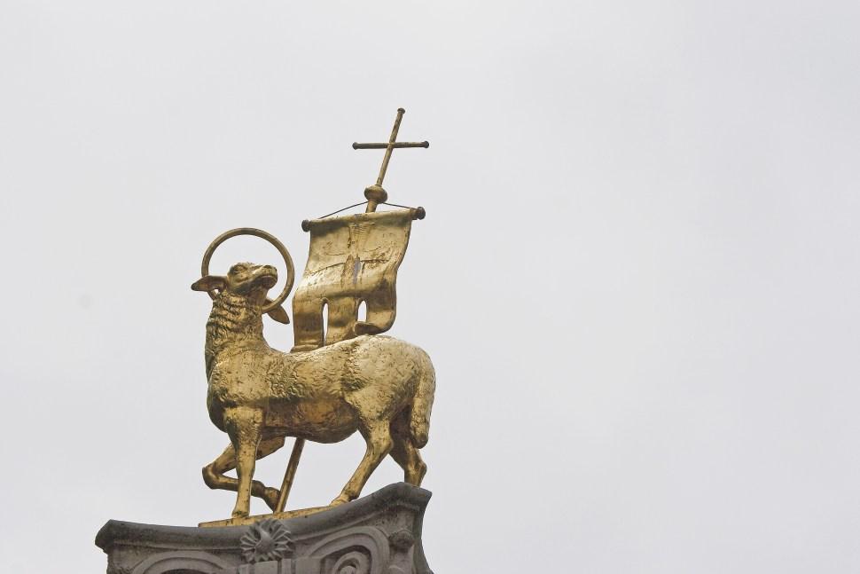 Lamb of God Statue