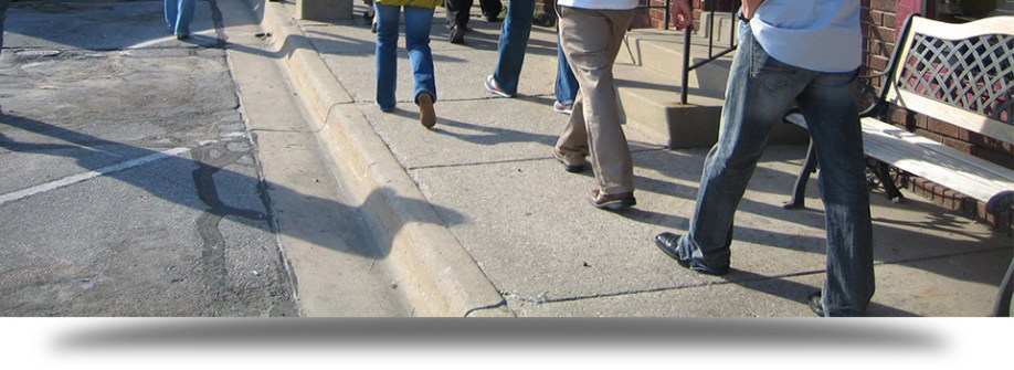 Inspection des trottoirs et bordures