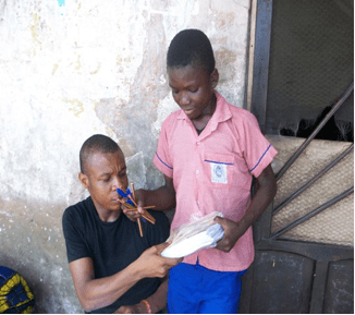 Orphans and Vulnerable Children Success Story -Richard Williams