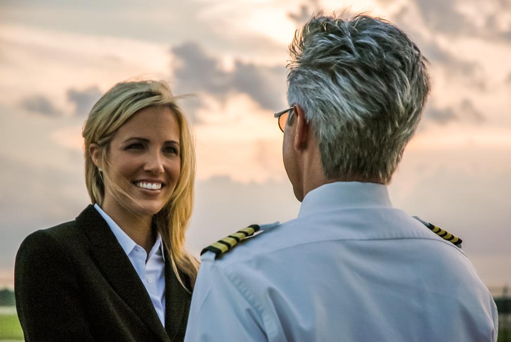 Greeting A Pilot