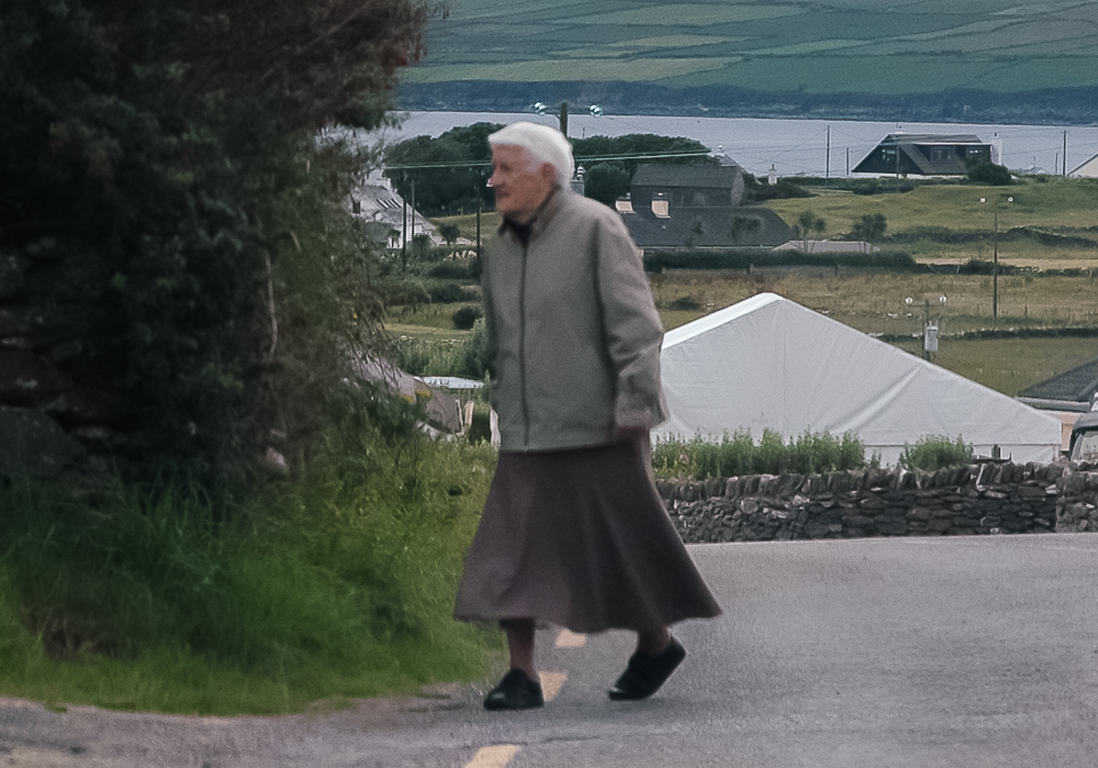 Old Woman In Ireland