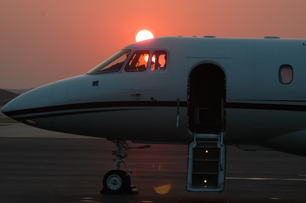 Jet Open For Service Sunrise