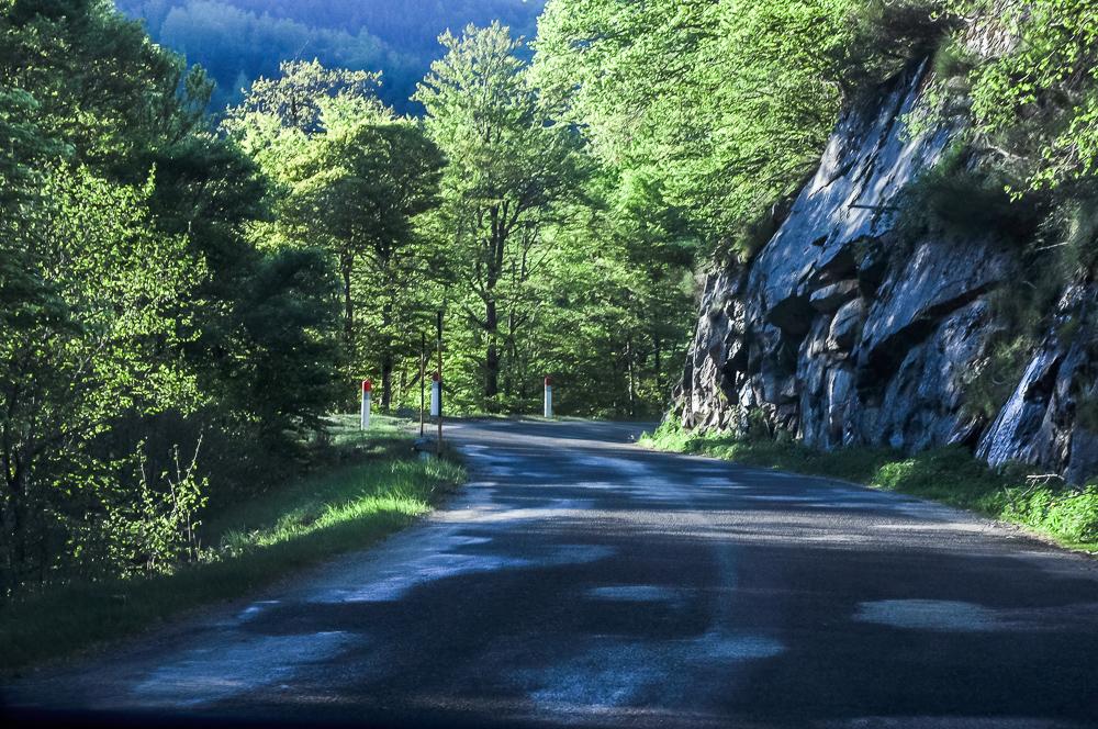 Rural France Road