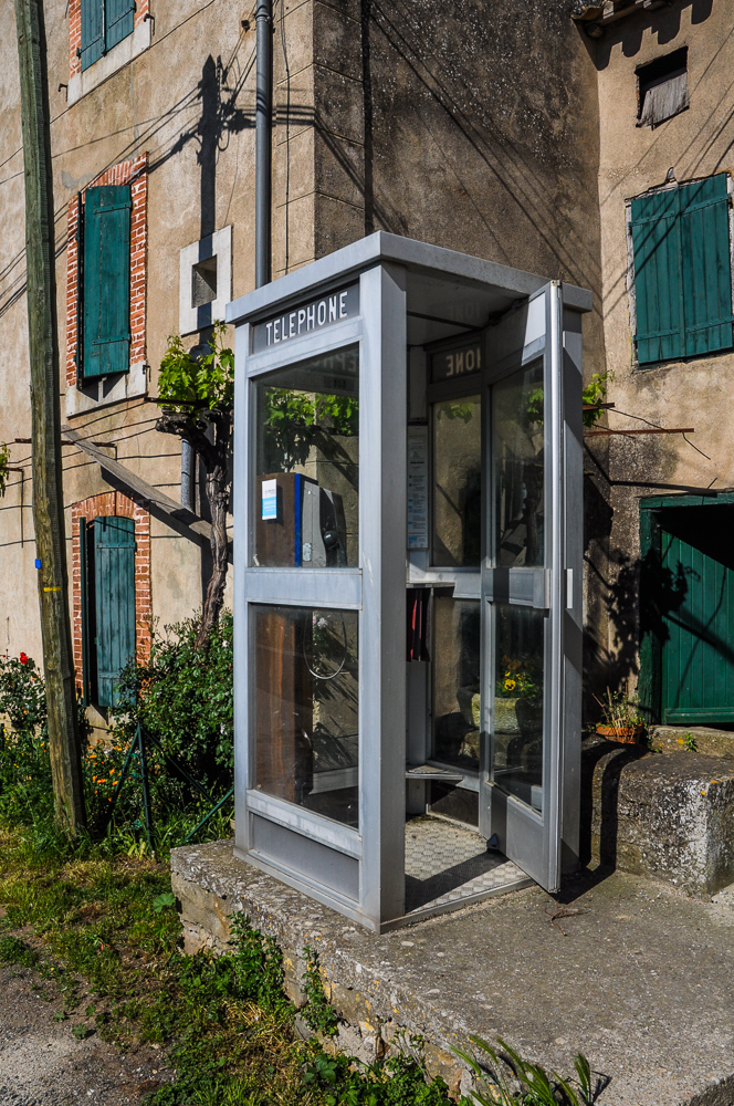 Telephone Booth Rural France