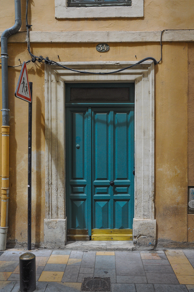 Aquamarine Door In Spain