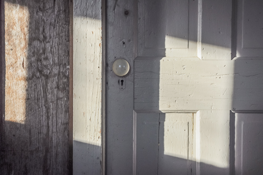 Doorknob, Shadows, & Memories