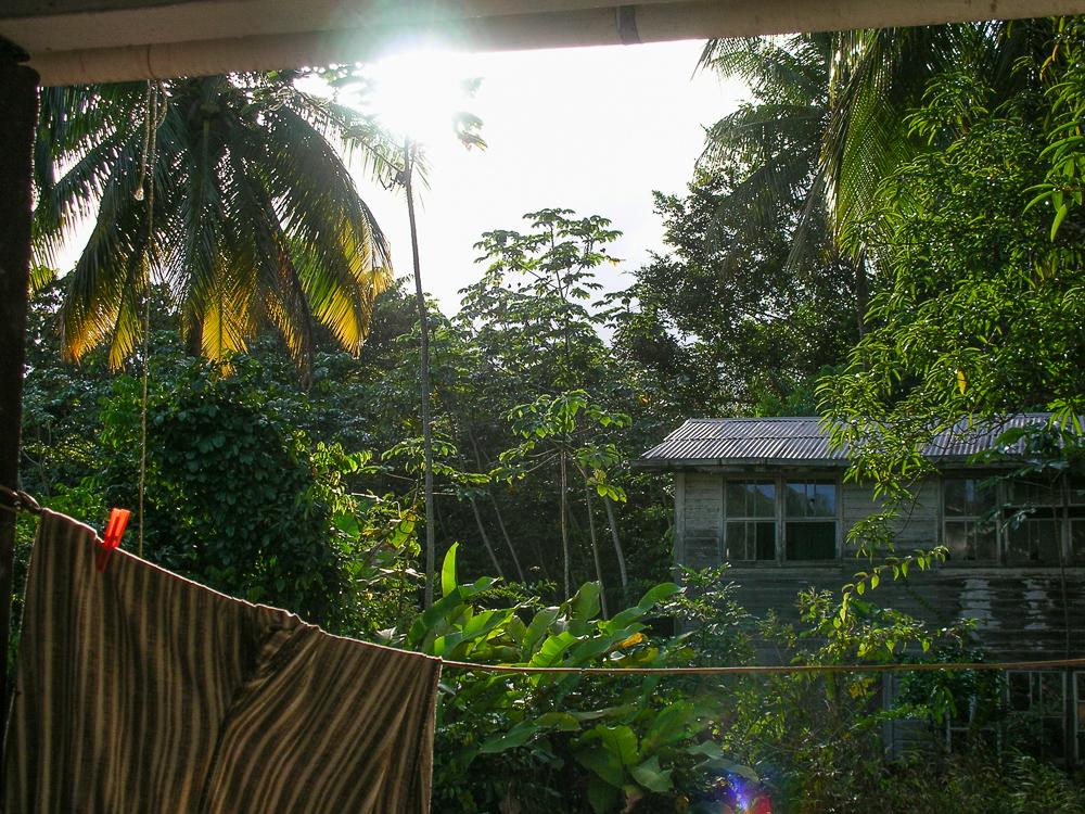 Cabin Laundry Rain Forest, Guyana